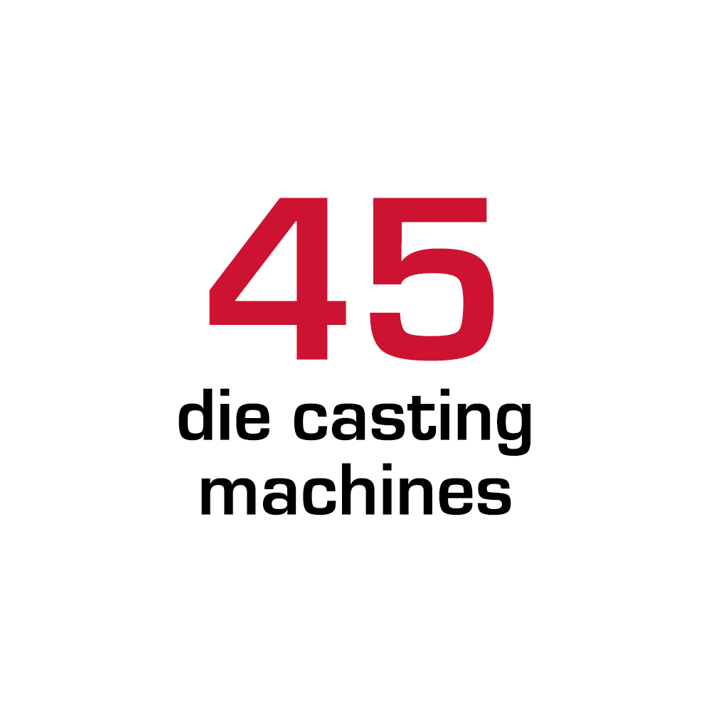 45 die casting machines